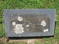Sallie Lois <I>Taylor</I> Hobson