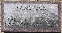 """Mary Alice """"Alice"""" <I>Mack</I> RAMSPECK"""