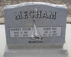 Harriet <I>Pixton</I> Mecham