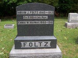 Emmeline <I>Walton</I> Foltz