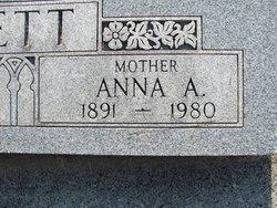 Anna Amelia <I>Andersen</I> Pett