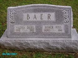 Valeria M <I>Diehl</I> Baer