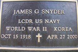 LCDR James Gardner Snyder