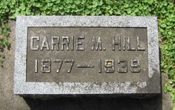 Carrie May <I>Hawver</I> Hill