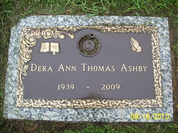 Dera Ann <I>Thomas</I> Ashby