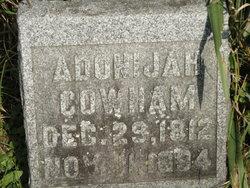Adonijah Cowham