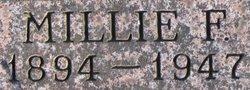 "Millard Fillmore ""Millie"" <I>Weddle</I> Allen"
