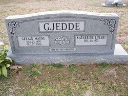 "Gerald Wayne ""Jerry"" Gjedde"