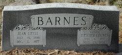 Fletcher Goldie <I>Counts</I> Barnes