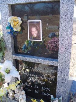 Dacresha Lanett Benton (1975-2005) - Find A Grave Memorial