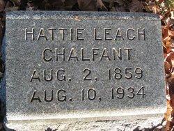 Hattie <I>Leach</I> Chalfant