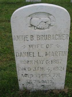 Annie <I>Brubacher</I> Martin