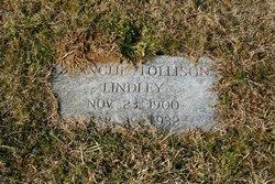 Blanche <I>Tollison</I> Lindley