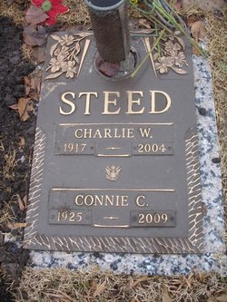 """Constance Claire """"Connie"""" <I>Teague</I> Steed"""