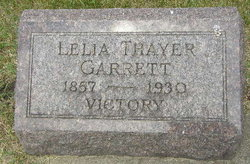 Lelia <I>Thayer</I> Garrett