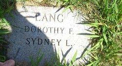 Dorothy <I>Fisher</I> Lang