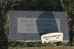 Fay <I>Sublett</I> Blackwell