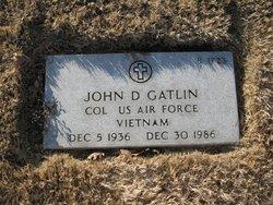 John D Gatlin