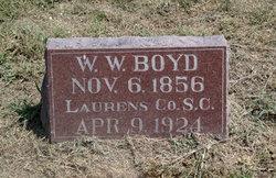 William Watts Boyd