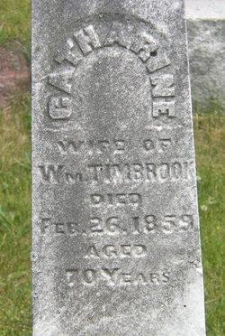 Catherine Susan <I>Brookhart</I> Timbrook
