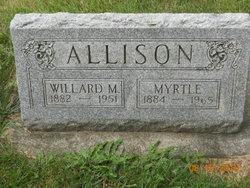 Myrtle Luance <I>Lee</I> Allison