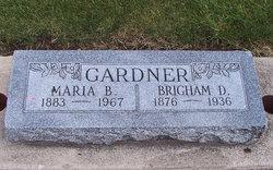 Maria <I>Blacker</I> Gardner
