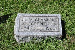 Julia Ann <I>Moor</I> Chambers Cooper
