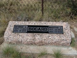 Martha J. <I>Counts</I> Bogard
