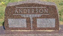 Lizzie C <I>Dennis</I> Anderson