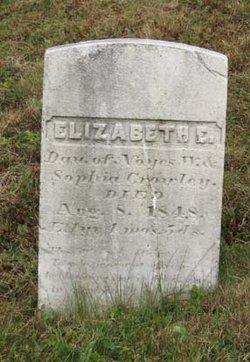 Elizabeth E Crowley