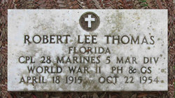 CPL Robert Lee Thomas