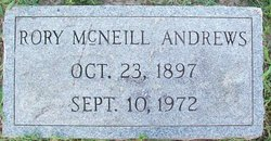 Rory <I>McNeill</I> Andrews