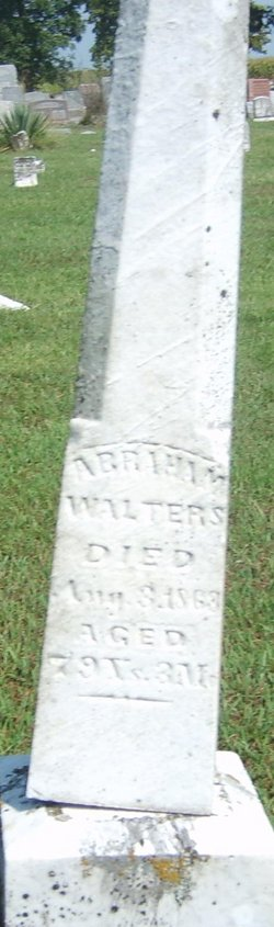 Abraham Walters