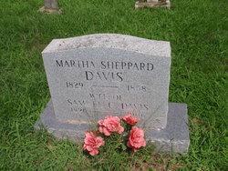 Martha Florence <I>Sheppard</I> Davis