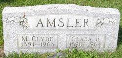 Clara Retta <I>Garver</I> Amsler