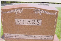 "Mary ""Mame"" Mears"