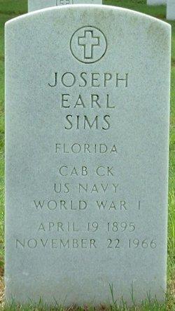 Joseph Earl Sims