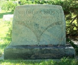 Mildred Arellia <I>Dudley</I> Brown