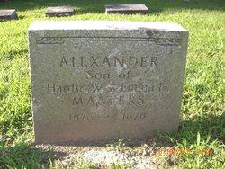 Alexander Dexter Masters