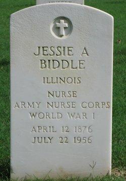 Jessie A Biddle