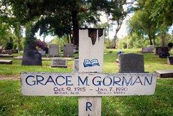 Grace <I>MacDougall</I> Gorman