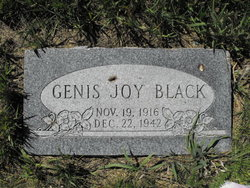 Genis Joy Black
