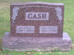 Anna W <I>Scott</I> Cash