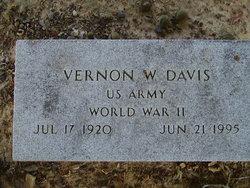 Vernon W Davis