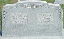 "Sarah Ann ""Sadie"" <I>Barrick</I> Walters"