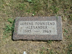 Lorene <I>Townsend</I> Alexander