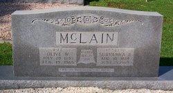 Olive <I>Williams</I> McLain