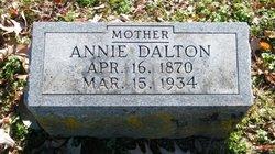 """Anna Inez """"Annie"""" <I>Tucker</I> Dalton"""