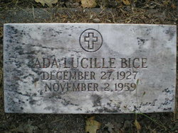 Ada Lucille <I>Handley</I> Bice