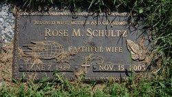 Rose M. Schultz